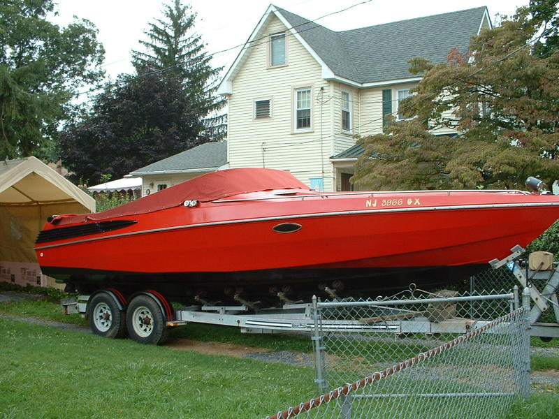 1987 wellcraft scarab located in New Jersey for sale