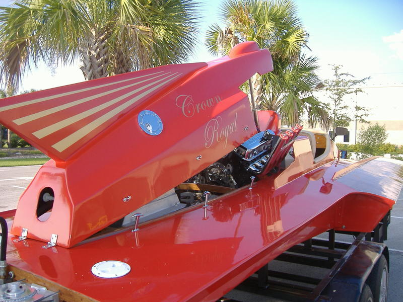 2010 custom grand national hydroplane located in Florida for sale