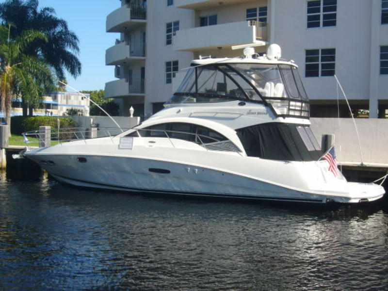 2008 Sea Ray 47 Sedan Bridge located in Florida for sale