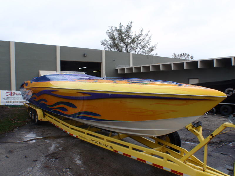 2003 42 outerlimits  located in Florida for sale