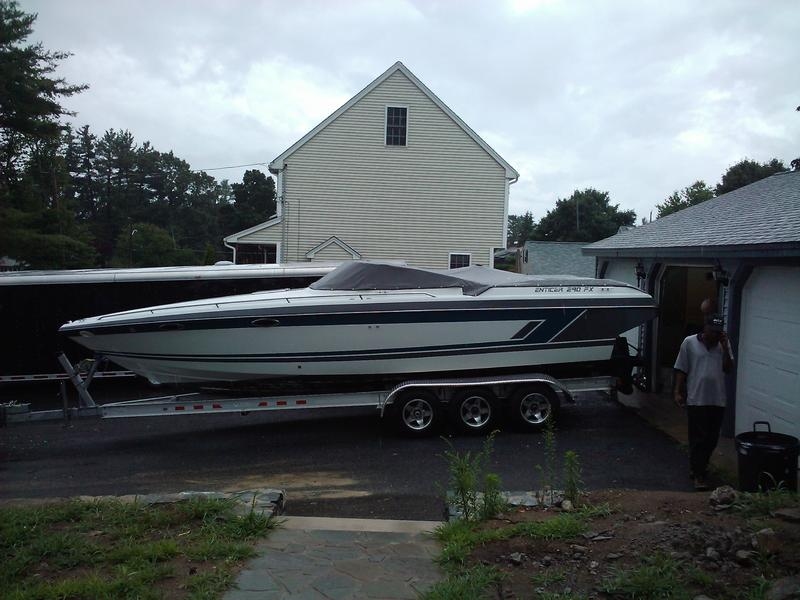 1991 Powerquest 290 Enticer located in Massachusetts for sale