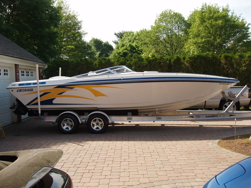 2003 checkmate 26 zt located in Massachusetts for sale