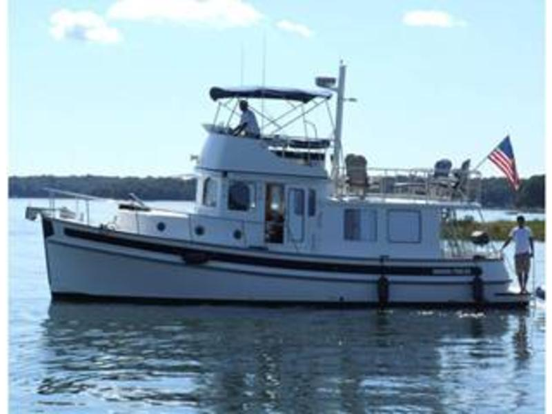 2007 Nordic Tug 37 Fly Bridge located in Connecticut for sale