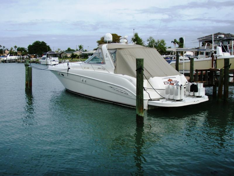 2000 Sea Ray 460 Sundancer located in Florida for sale