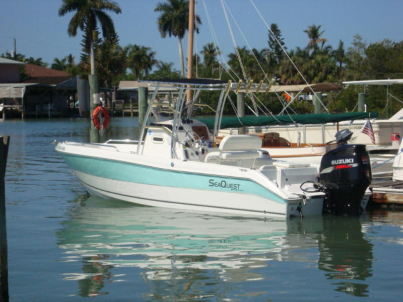 2009 Pro-Sport 2450BW Sea Quest Center Console located in Florida for sale