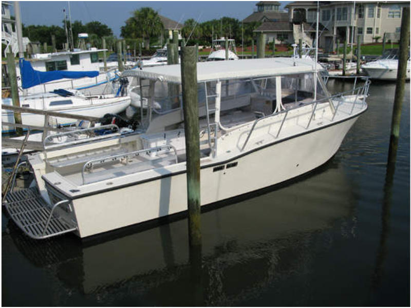 1991 Delta Boat Works 35 SportFisher located in North Carolina for sale