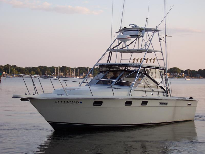 1980 Tiara express open located in Connecticut for sale