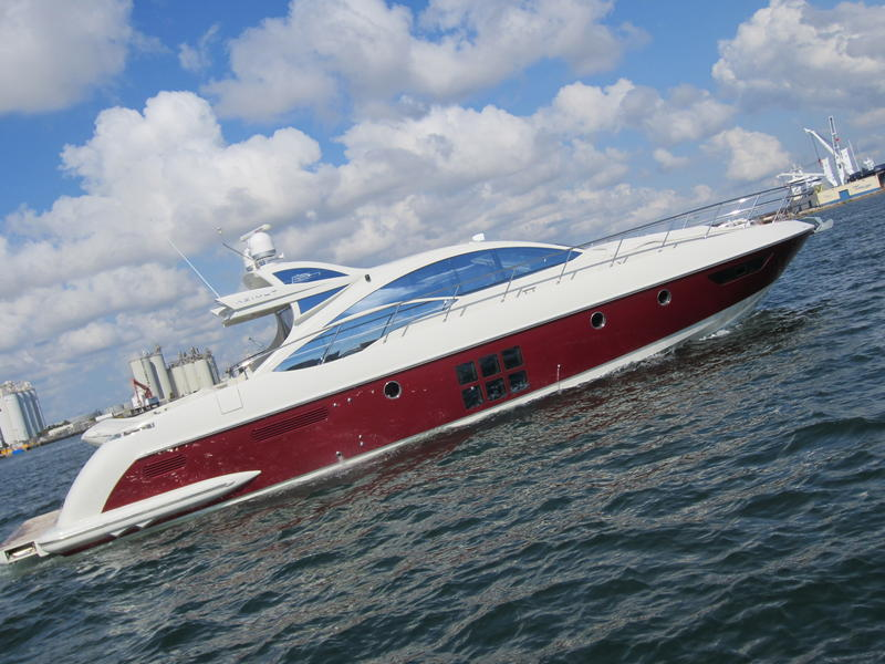 2008 Azimut 62s located in Florida for sale