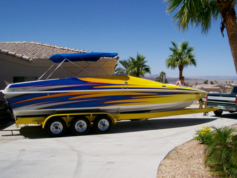 2008 Advantage 32 Victory Bow Rider located in Arizona for sale