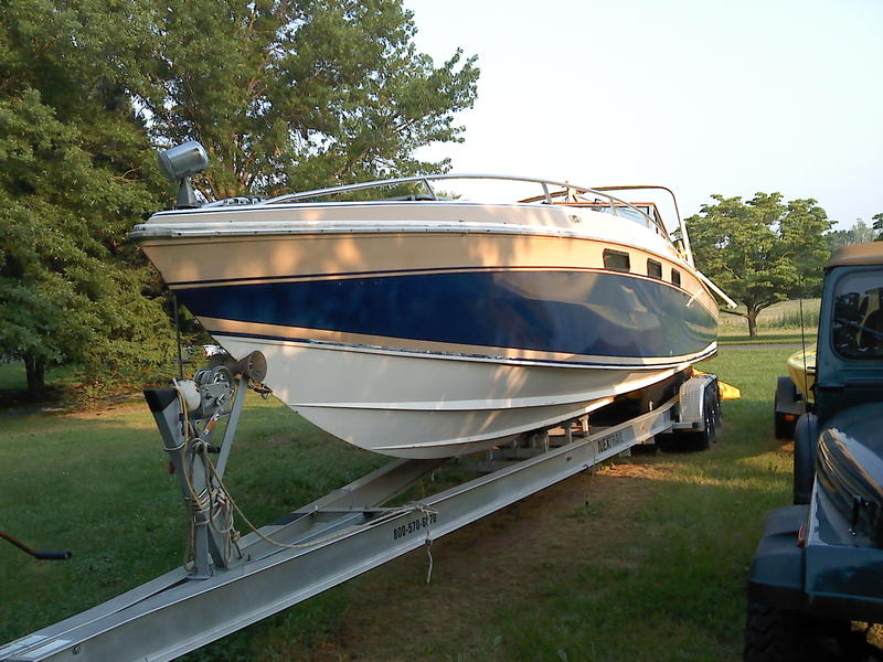 1983 wellcraft scarab located in Maryland for sale