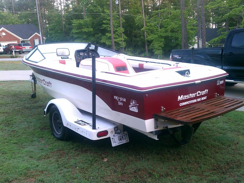 1987 Mastercraft Pro Star 190 located in Georgia for sale