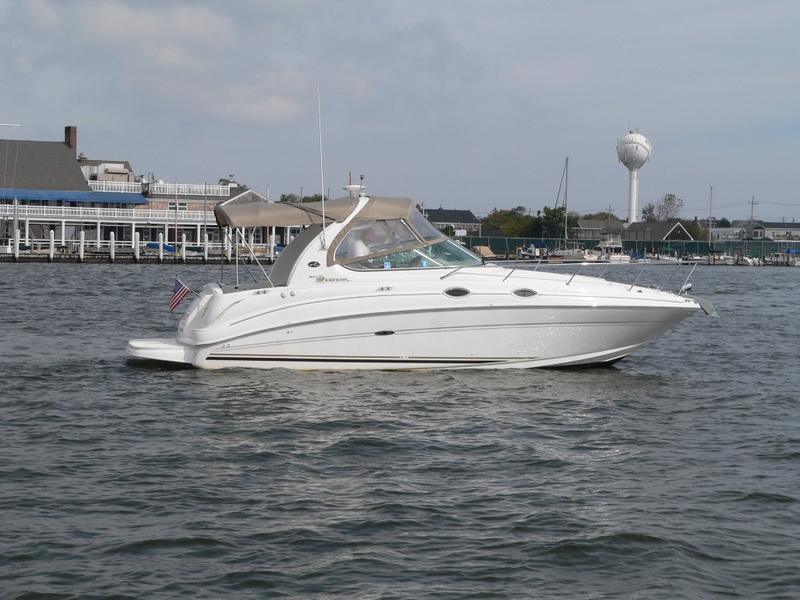 2003 SeaRay Sundancer located in New Jersey for sale