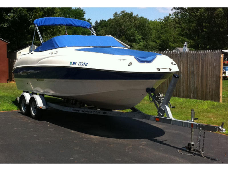 2007 Stingray 220DR located in Maine for sale