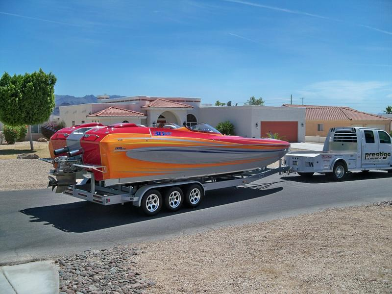 2009 DAVES CUSTOM BOAT 30 FT SPORTDECK located in Arizona for sale