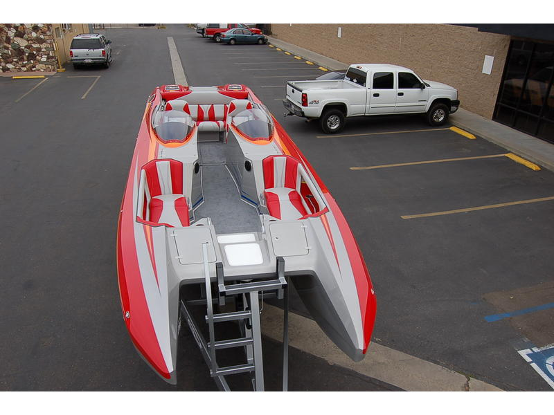 DAVES CUSTOM BOAT 30 FT SPORTDECK