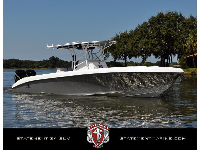 2012 STATEMENT 34 CC located in Florida for sale