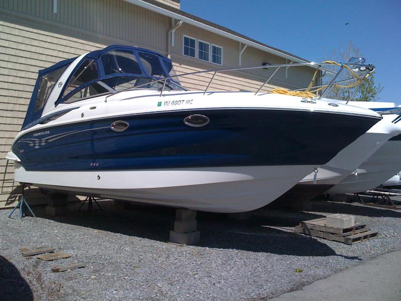 2007 Crownline 270CR located in New York for sale