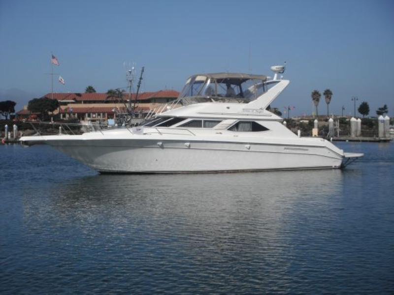 1998 Sea Ray 440 Express Bridge  Bring Offers located in California for sale