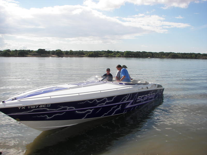 1997 Wellcraft Scarab 31 located in Texas for sale