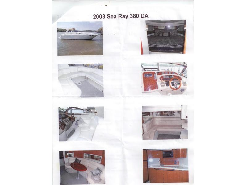 2003 Sea Ray 380 Sundancer located in Missouri for sale