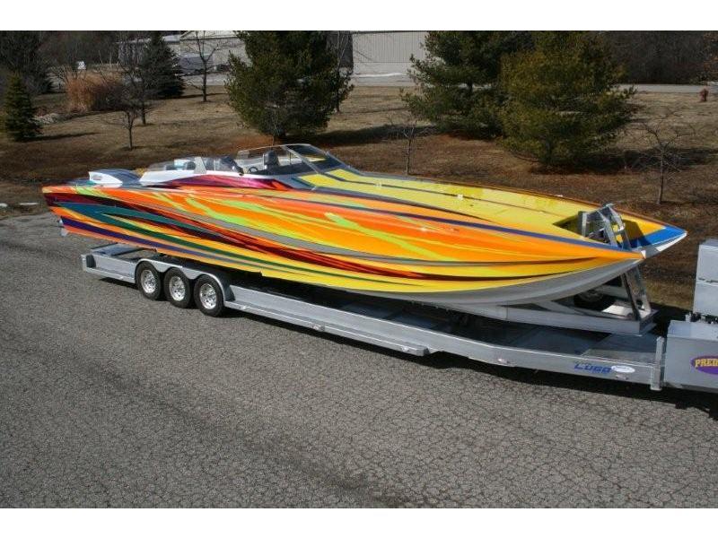 2009 Ss Skater Supercat Predator Powerboat For Sale In