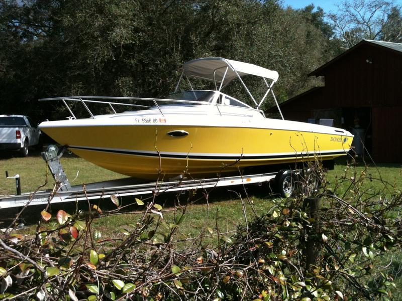 1988 Donzi Trounament Fisherman located in Florida for sale