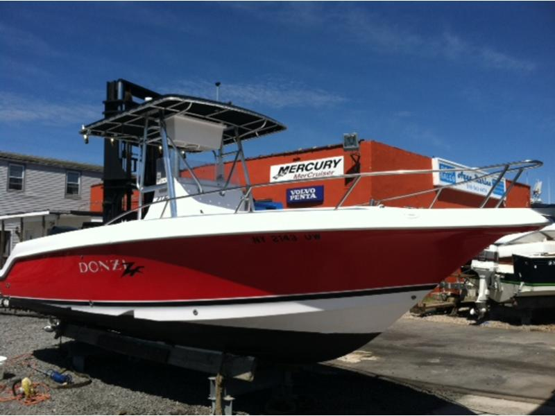 2000 DONZI 23ZF located in New York for sale