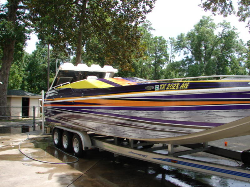 1996 american offshore 3100 powerboat for sale in texas