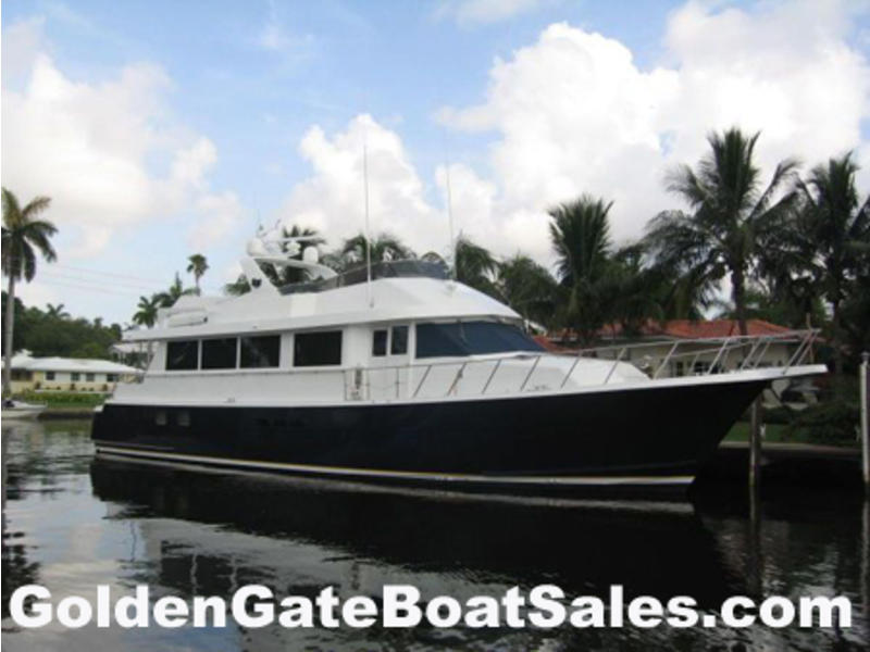 1996 Hatteras Sport Deck located in Florida for sale