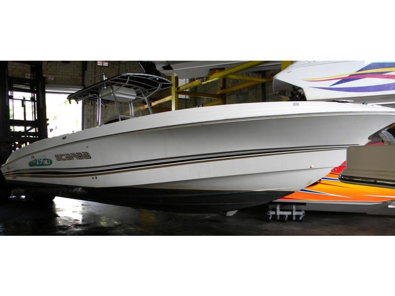 2002 Wellcraft 35 Scarab Sport located in Florida for sale