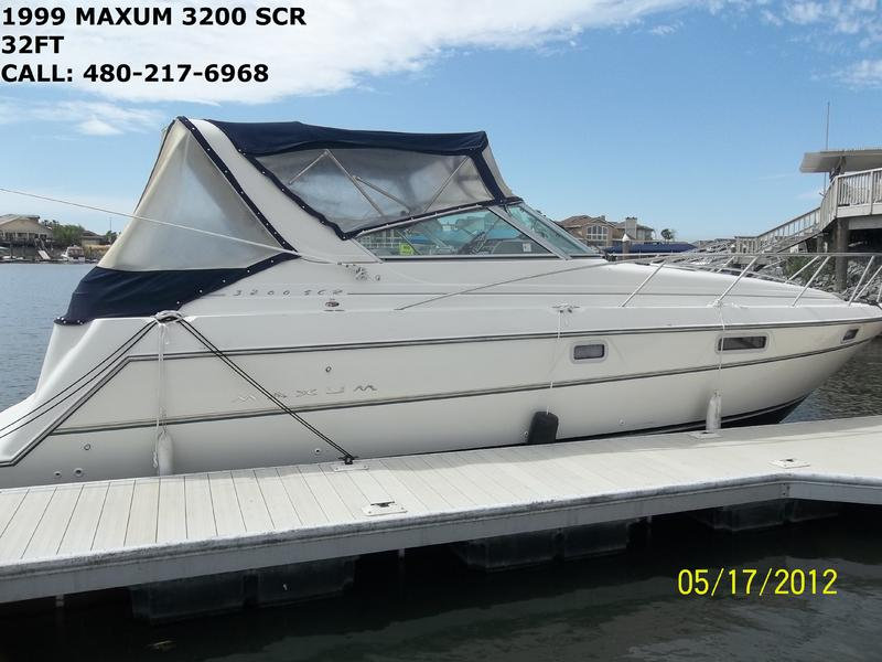 1999 Maxum 3200 SCR located in California for sale