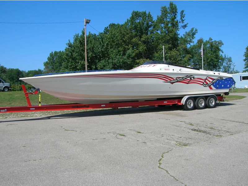 2002 Velocity 410 located in Ohio for sale