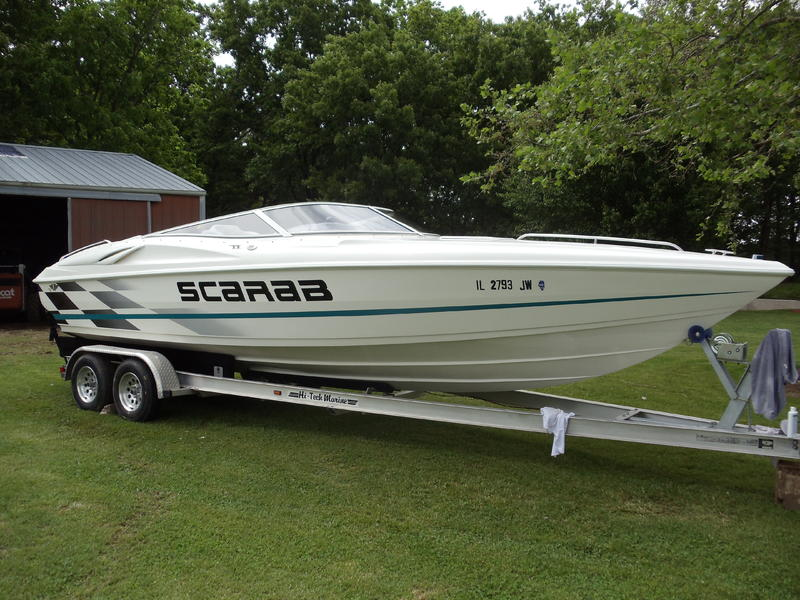 1998 wellcraft scarab located in Illinois for sale