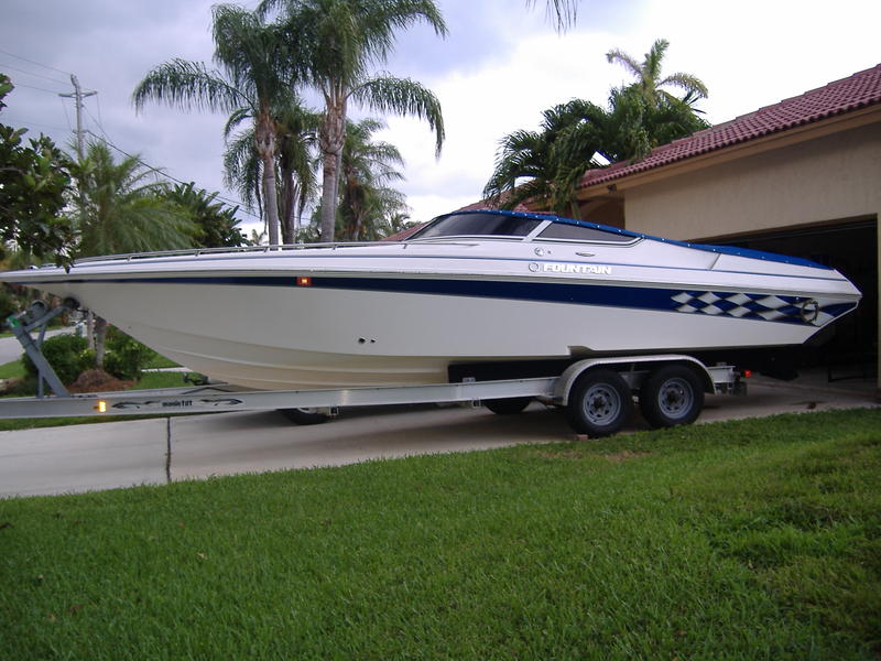 2005 fountain 29 fever located in Florida for sale