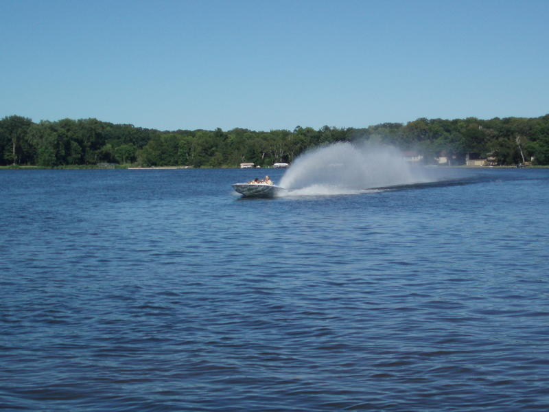 1972 hullcraft jet boat located in Minnesota for sale