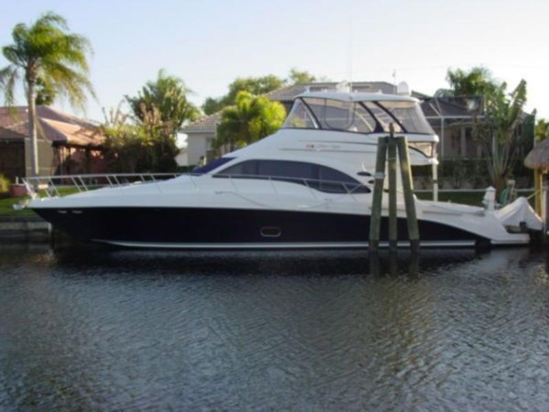 2007 Sea Ray 58 Sedan Bridge located in Florida for sale