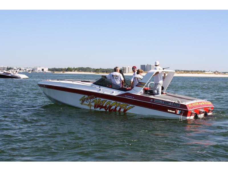 1985 Wellcraft Scarab II located in Alabama for sale