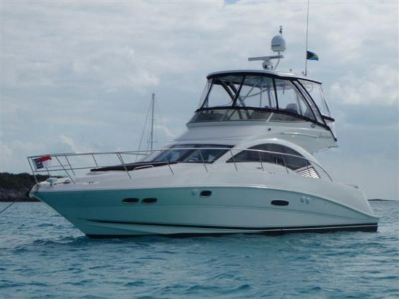2008 Sea Ray 47 Sedan Bridge Powerboat For Sale In Florida