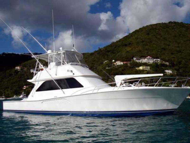 1999 Viking Convertible 50 located in Florida for sale