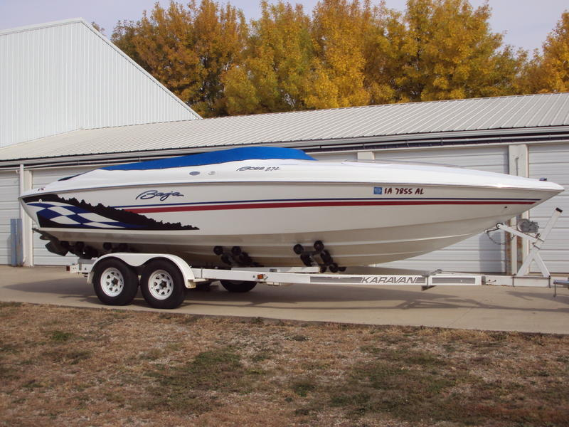 2000 Baja 272 Boss located in Iowa for sale