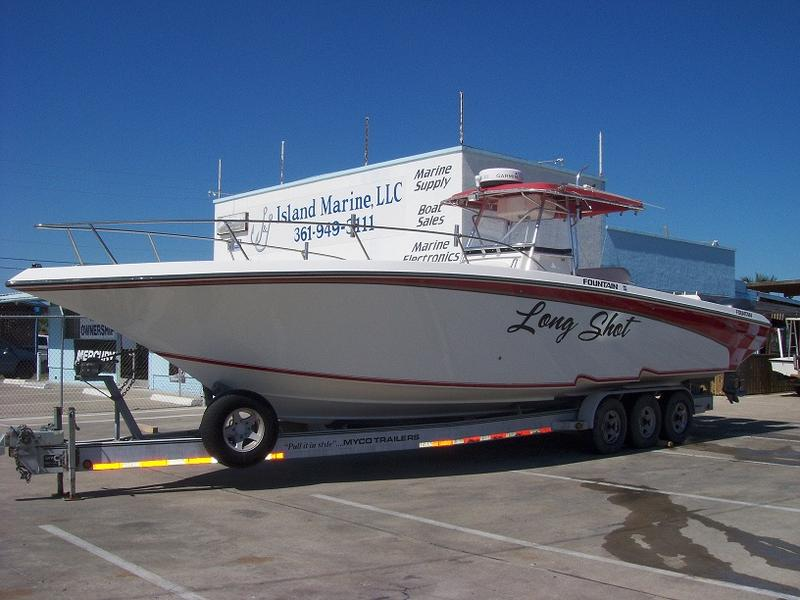 2002 Fountain 38ft Tournament Edition located in Texas for sale