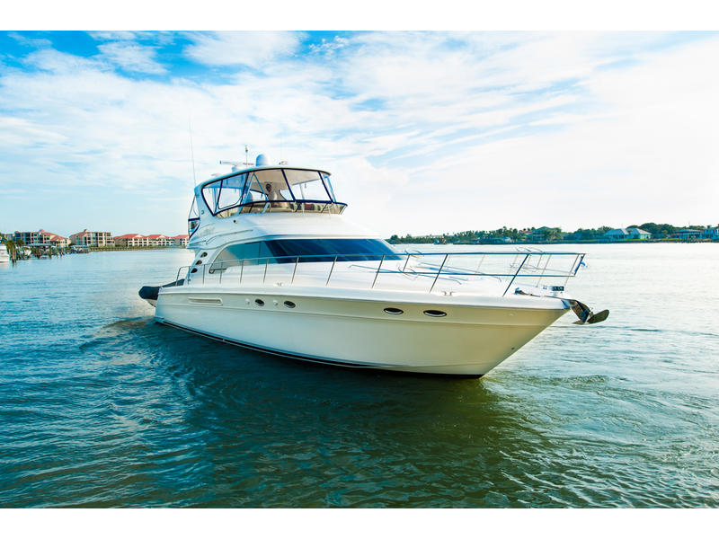 2004 Sea Ray 56 Sedan Bridge located in Florida for sale