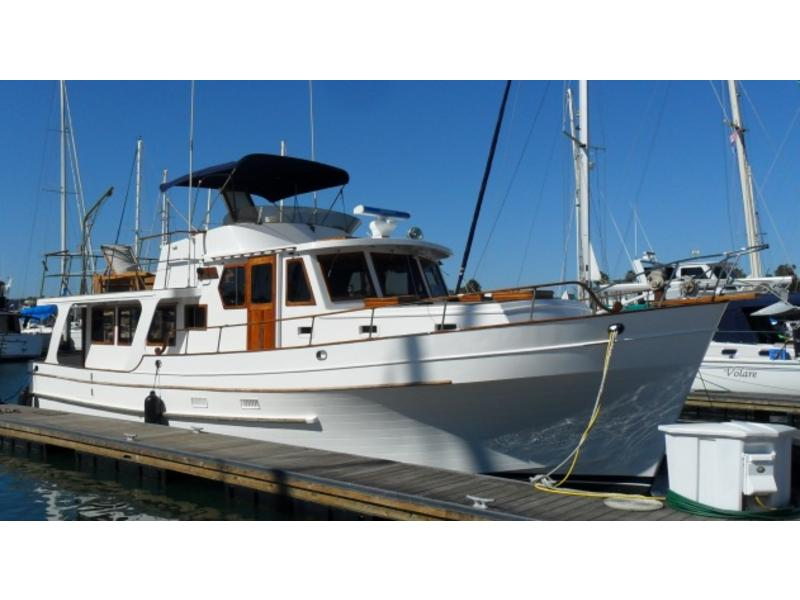 1980 CL Sea Ranger 47 trawler pilothouse yacht located in California for sale