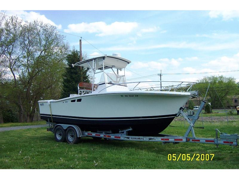 1994 Luhrs 250 CC located in New Jersey for sale
