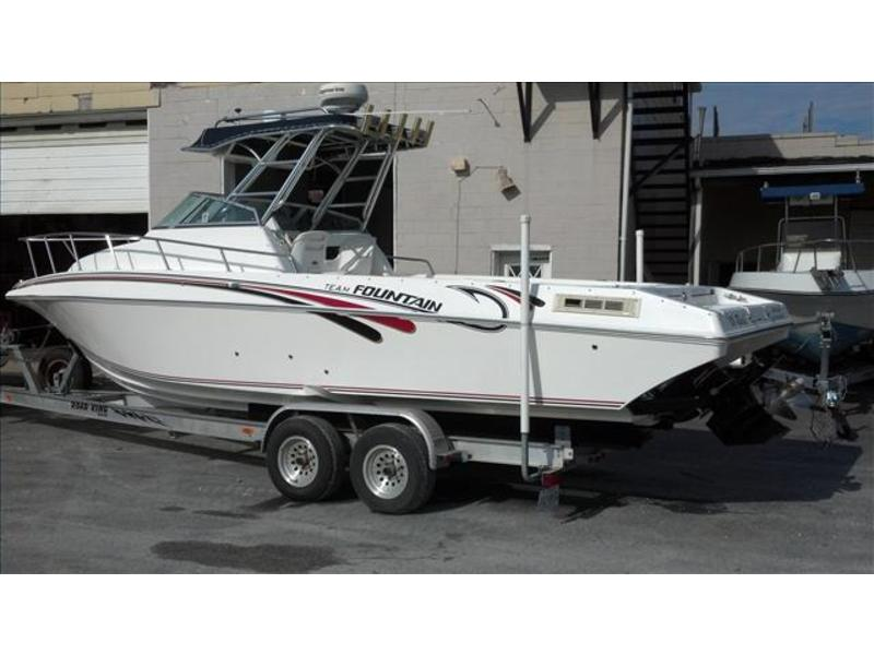 2004 Fountain 29 Sportfish located in Maryland for sale