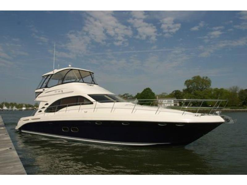 2005 Sea Ray 55 Sedan Bridge located in Florida for sale