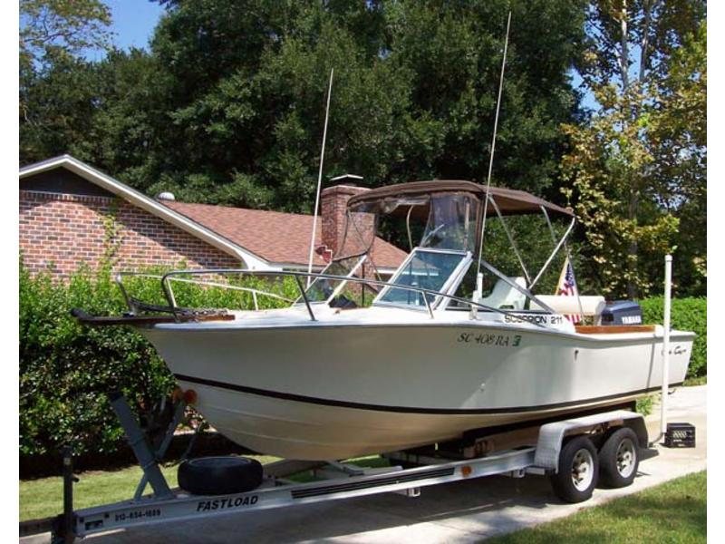 1980 Chris Craft Scorpion 211 located in South Carolina for sale