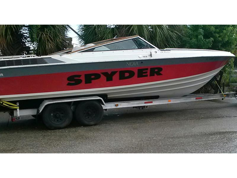 1988 wellcraft nova spyder located in Florida for sale