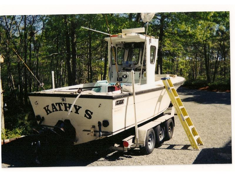 1984 Cape Codder 24 located in Massachusetts for sale