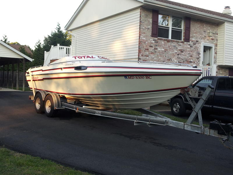 1991 checkmate 251 convinsor gtx located in Maryland for sale